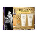Elizabeth Taylor White Diamonds Women's Perfume 4-Piece Gift Set - Eau de Toilette ($117 Value)