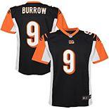 Youth Nike Joe Burrow Black Cincinnati Bengals 2020 NFL Draft First Round Pick Game Jersey