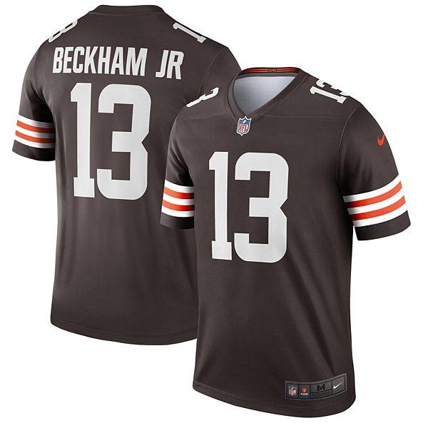 Men's Nike Odell Beckham Jr. Brown Cleveland Browns Legend ...