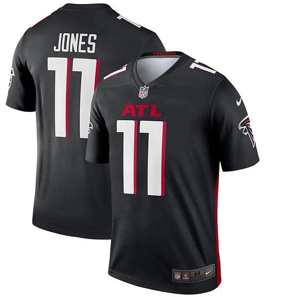 Men's Nike Julio Jones Black Atlanta Falcons Legend Jersey