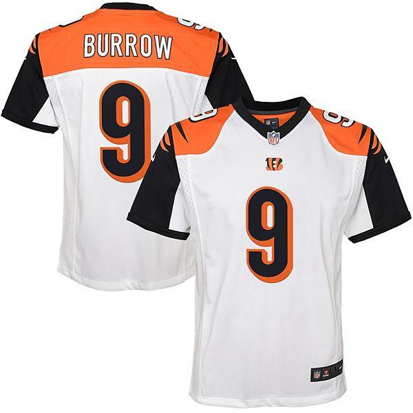Youth Nike Joe Burrow White Cincinnati Bengals 2020 NFL Draft First Round Pick Game Jersey