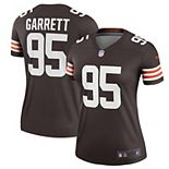 Women's Nike Myles Garrett Brown Cleveland Browns Legend Player Jersey