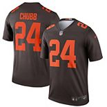 Men's Nike Nick Chubb Brown Cleveland Browns Alternate Legend Jersey