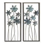 Stella & Eve Floral Wall Decor 2-piece Set