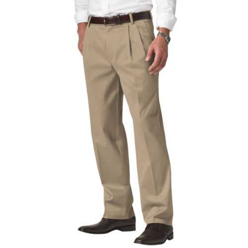 Dockers® Classic-Fit Signature Khaki Pleated Pants D3