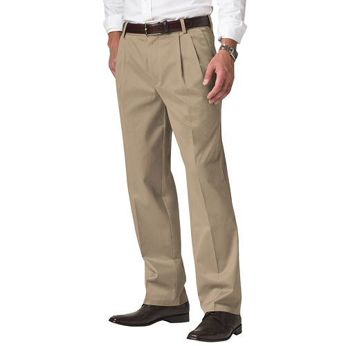 Men's Dockers® Signature Khaki D3 Classic-Fit Pleated Pants