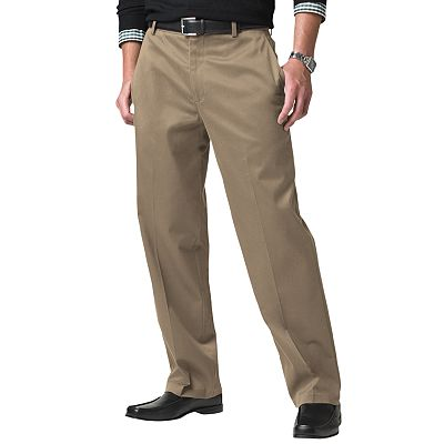 Dockers Signature Khaki Classic-Fit Flat-Front Pants