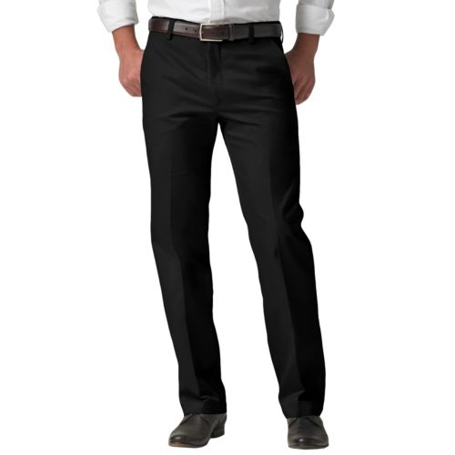 Dockers® Signature Khaki D1 Slim-Fit Flat-Front Pants - Men