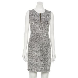 Petite Apt. 9® Sleeveless Zip-Front Sheath Dress
