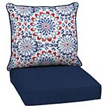 Arden Selections Outdoor Deep Seat Cushion Set