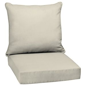Arden Selections 2-pack Outdoor Deep Seat Cushion Set