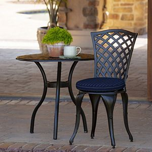 Arden Selections 2-pack Outdoor Round Foam Bistro Cushion Set