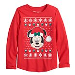Disney's Minnie Mouse Girls 4-12 Christmas Graphic Tee by Jumping Beans®