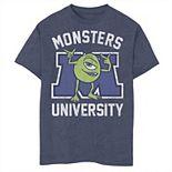 Disney / Pixar's Monsters University Boys 8-20 Mike Graphic Tee