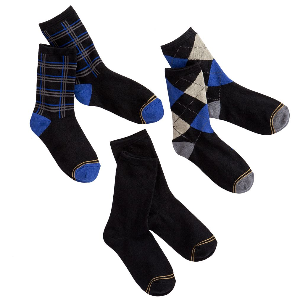Boys GOLDTOE 3-pk. Dress Socks