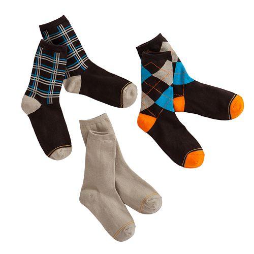 Boys GOLDTOE 3-pk. Dress Socks