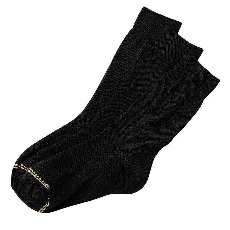 GOLDTOE 3-pk. Microfiber Dress Socks