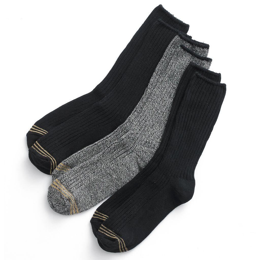 Boys GOLDTOE 3-pk. Microfiber Dress Socks
