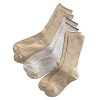 Boys GOLDTOE 3 pkMicrofiber Dress Socks
