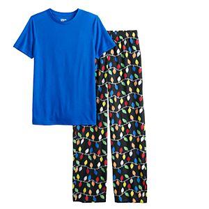 Boys 4-20 Urban Pipeline? Tee & Bottoms Pajama Set in Regular & Husky