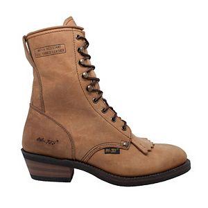 AdTec Packer Men's Water Resistant Crazy Horse Work Boots