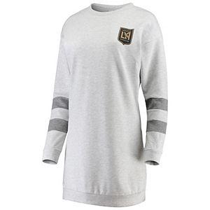 Women's ZooZatz Gray LAFC Sweatshirt Dress