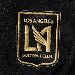 Men's The Northwest Company Black LAFC Bathrobe