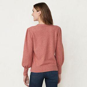 Juniors' LC Lauren Conrad Crewneck Graphic Sweater