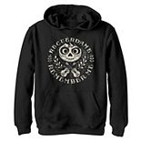 Disney / Pixar's Coco Boys 8-20 Remember Me Sugar Skull Circle Logo Graphic Fleece Hoodie