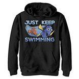 Disney / Pixar's Finding Dory Boys 8-20 Just Swimming With Nemo Graphic Fleece Hoodie