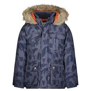 Toddler Boy Carter's Hooded Heavyweight Parka Jacket