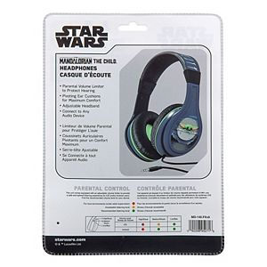 KIDdesigns Star Wars Mandalorian Headphones