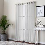 Corona Curtain 1-panel Payton Grommet Top Window Curtain