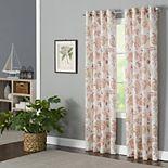 Corona Curtain 1-panel Sabrina Grommet Top Window Curtain