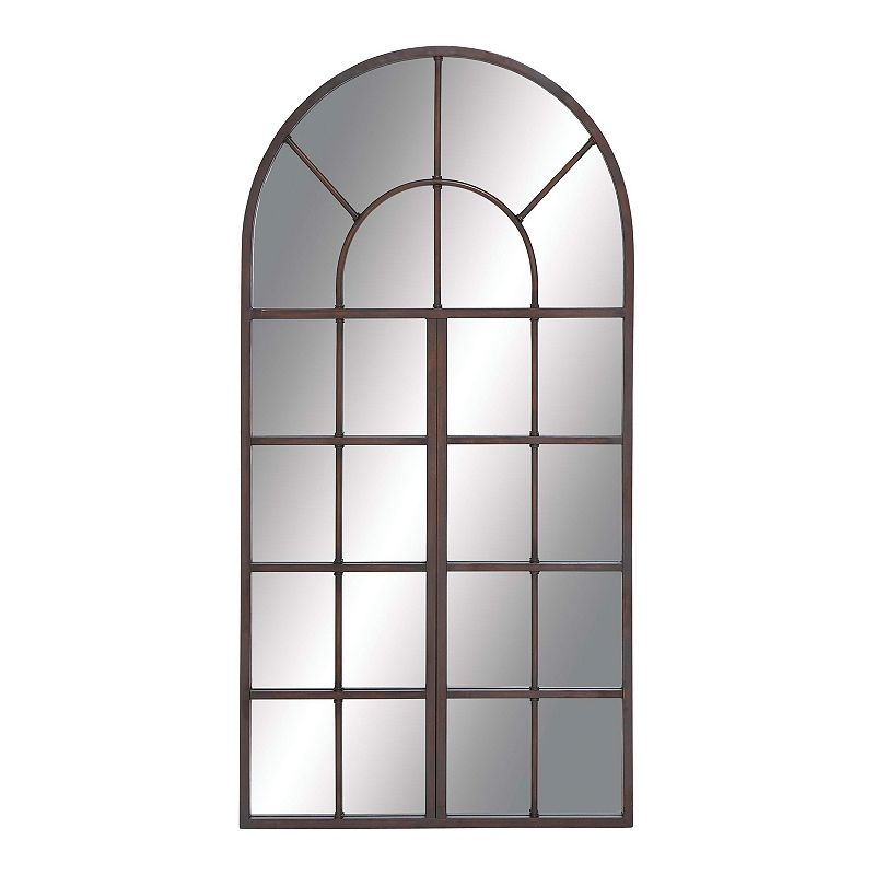 Stella & Eve Arched Wall Mirror, Brown, OVERSIZED