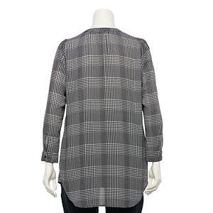 Plus Size Apt. 9® Shirred Tunic Shirt
