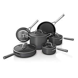Ninja Foodi NeverStick Premium 10-pc. Hard-Anodized Cookware Set