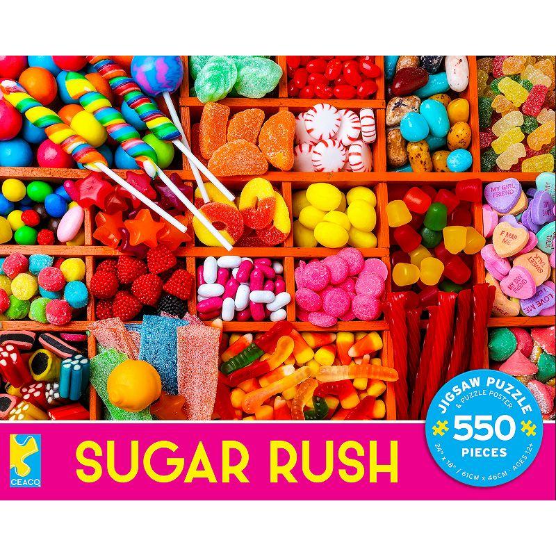 Ceaco Sugar Rush 550 pc. Jigsaw Puzzle