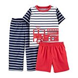 Toddler Boy Carter's 3-Piece Pajama Set