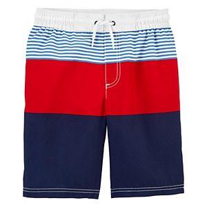 Boys 4-14 Carter's Americana Swim Trunks