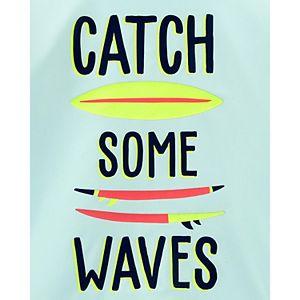Boys 4-14 Carter's Wave Rashguard Swimsuit Top