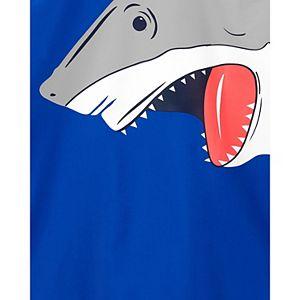 Boys 4-14 Carter's Shark RashguardSwimsuit Top