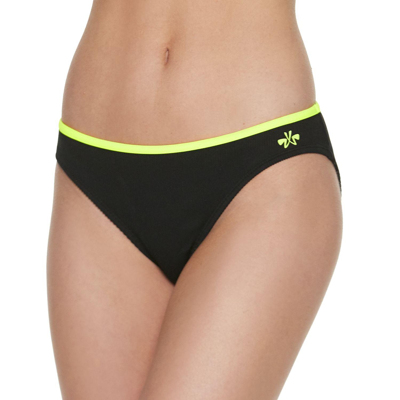 Juniors' ZX Sport Brief Bikini Bottoms