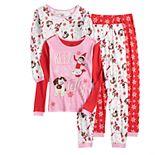 Girls 6-10 Elf On The Shelf Keep It Jolly 4-Piece Pajama Set