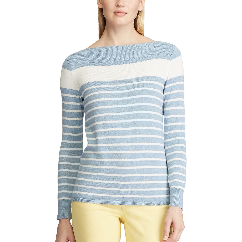 Women's Chaps Striped Sweater