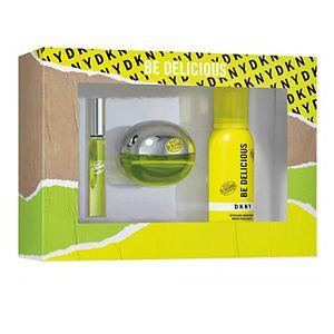 DKNY Be Delicious Women's Fragrance 3-Piece Gift Set - Eau de Parfum ($122 Value)