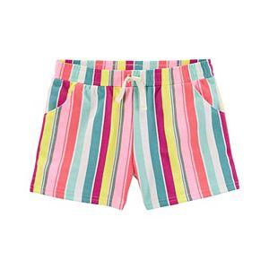 Girls 4-12 Carter's Ruffle Pull-On Shorts