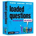 """Loaded Questions: The Classic Game of """"Who Said What"""" by All Things Equal"""