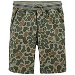 Boys 4-14 OshKosh B'gosh® Pull-on Stretch Canvas Shorts