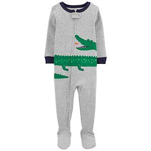 Baby Boy Carter's Zip Footed Pajamas